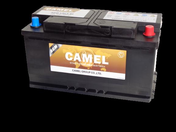 Käynnistysakku CAMEL OEM AGM/92Ah/850A/353*175*190/B13/-+